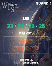 World Impact Summit - Sommet international pour la Planète - Bordeaux Quinconces