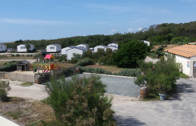 Camping Le Soleil D'or 14 - Vendays-Montalivet