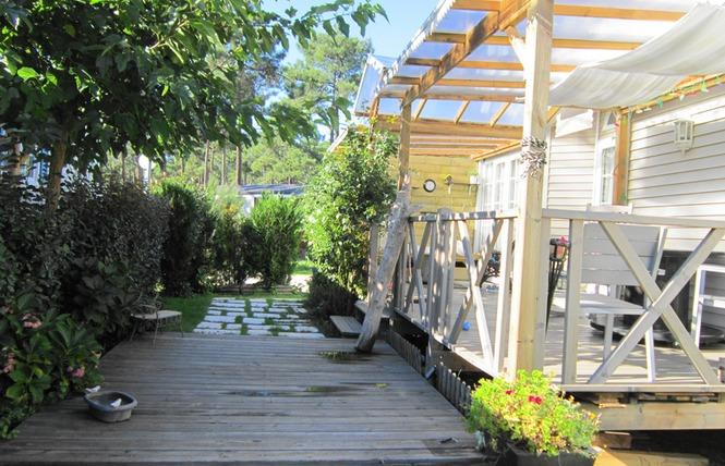 Camping les jardins du littoral campings gironde - Camping les jardins du littoral lacanau ...