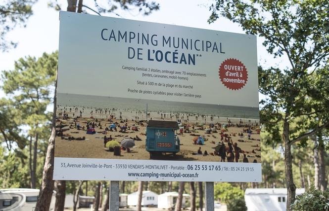 Camping municipal de l 39 oc an campings gironde for Camping municipal les prades la chaise dieu