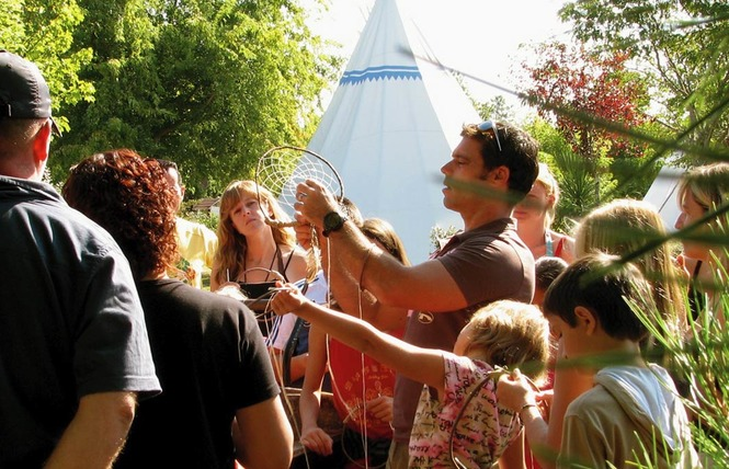 Camping Castel le Village Western 7 - Hourtin