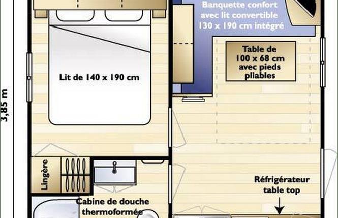 Camping Les Franquettes 22 - Grayan-et-l'Hôpital