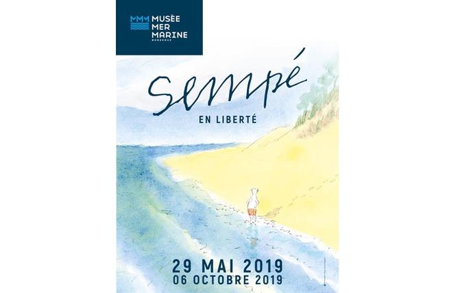 Sempé en Liberté au Musée Mer Marine 1 - Bordeaux