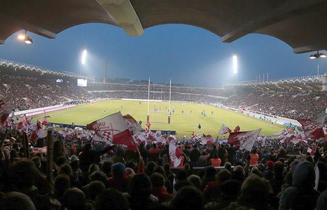 Match de rugby de l'UBB au Stade Chaban-Delmas à Bordeaux 2 - Bordeaux