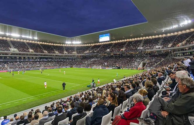 Match des Girondins de Bordeaux Ligue 1 au Matmut Atlantique 3 - Bordeaux