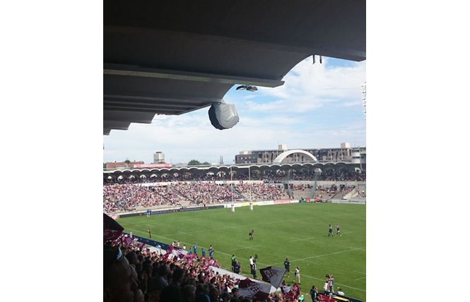 Match de l'UBB au Stade Chaban-Delmas à Bordeaux 1 - Bordeaux
