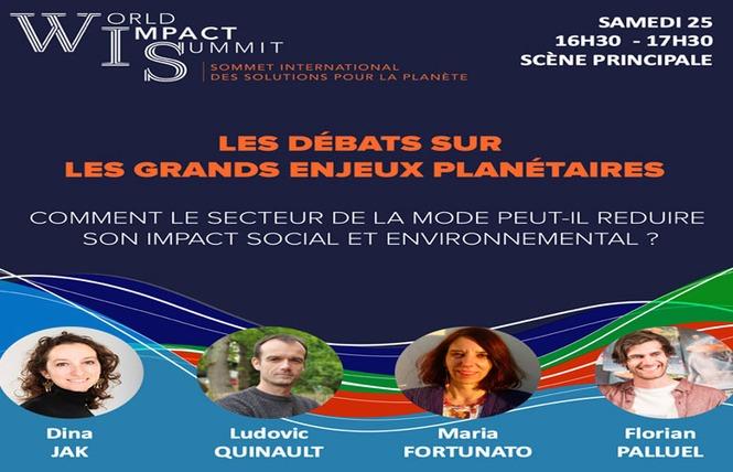 World Impact Summit - Sommet international pour la Planète - Bordeaux Quinconces 3 - Bordeaux