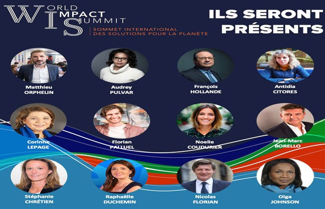 World Impact Summit - Sommet international pour la Planète - Bordeaux Quinconces 4 - Bordeaux